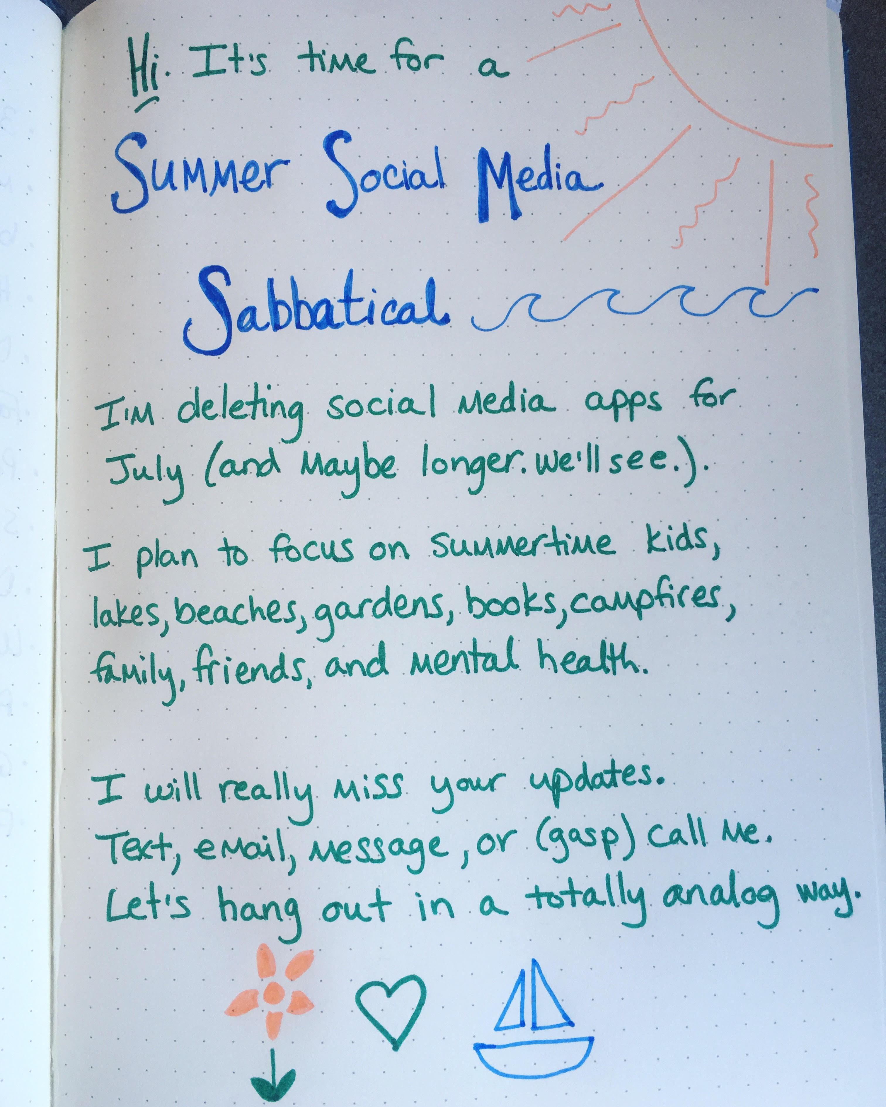 ss sabbatical